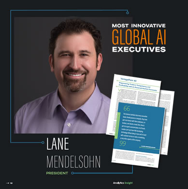 Lane Mendelsohn, President of Vantagepoint, named Top 10 Most Innovative leaders