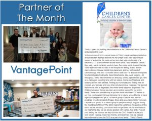 Vantagepoint AI and The Children's Cancer Center - Partners