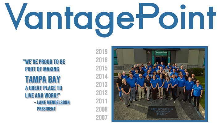 Vantagepoint 10 x Winner for Best Places to Work