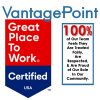 Vantagepoint AI is Great Place to Work Certified