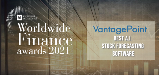 VantagePoint has been recognized internationally as the Best AI Stock Forecasting Software