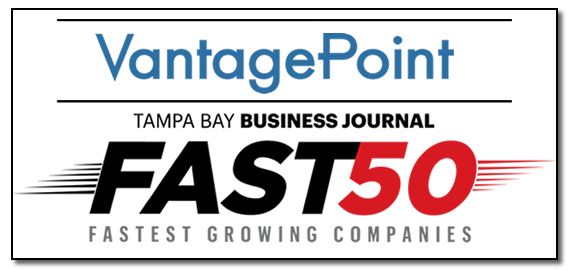 Vantagepoint Recognized as FAST50 Fastest-growing private business in Tampa Bay